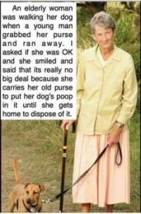 You've Gotta Love This Woman...