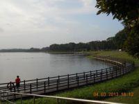 Fishing at the Bedok Reservoir - Singapore