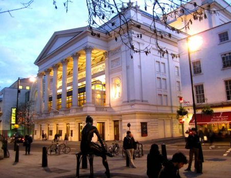 LONDON - THE ROYAL OPERA HOUSE, COVENT GARDEN