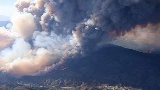 CA wildfire August 2020