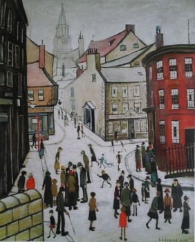 Ls Lowry's 125th birthday today