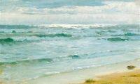 Sea at Skagen by Peder Serverin Droyer 1882