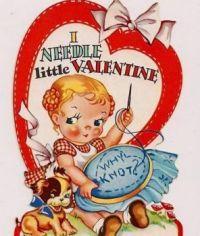 I needle little Valentine