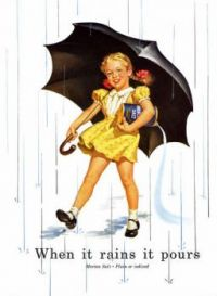 Morton Salt 1952 When It Rains