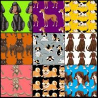 Dog patterns 1