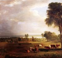 """Asher Brown Durand, """"Gathering Storm"""""""