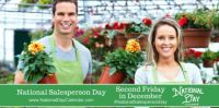 Today Is National Salesperson Day!!