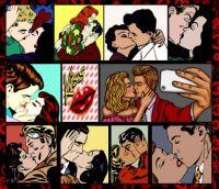 Kiss Kiss Collage Challenge