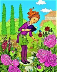 Beautiful garden - by Petrova Mira