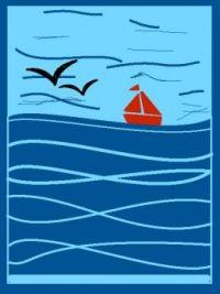 de Rode Zeilboot