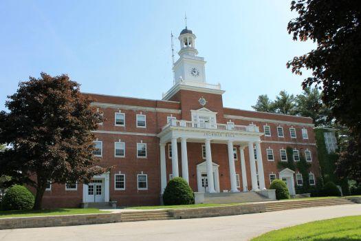 Norwich University building, Northfield, VT, USA