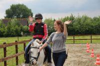 Erik op het paard