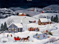 Mary Singleton-The Carolers
