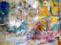 Drop cloth abstract