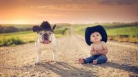 193822-children-dog-cowboy_hats-animals-Jake_Olson-road-Nebraska