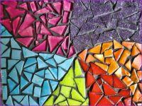 Pottery mosaic