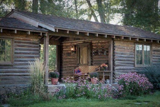 A Lovely Secluded Cabin In The Woods ~ Borrowed From RowenaElcy