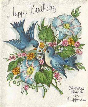 Happy Birthday Bluebirds