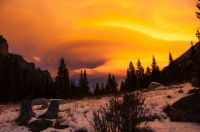 Montana Sunset Drama