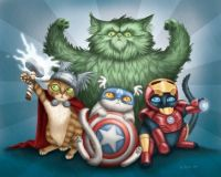 Kitten Avengers