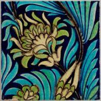 Earthenware Tile, William Frend De Morgan, Sands End Pottery, ca. 1888–98