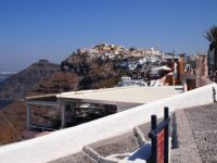 Santorini in the summer