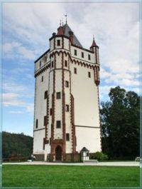White tower, Bílá věž, Hradec nad Moravicí, The Czech Rep.