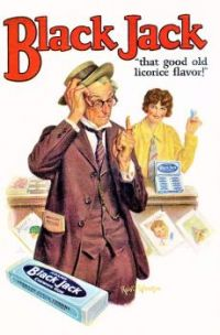 Themes Vintage ads - Black Jack Gum