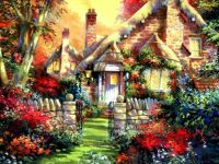 cottage charm ~ Jim Mitchell