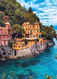 By the water --   Portofino, Italy....