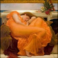 Flaming June (1895) by Frederic Leighton (1830 - 1896)