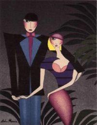 Art Deco  'A Couple'
