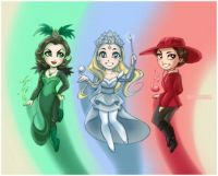 Powerpuff Witches of OZ