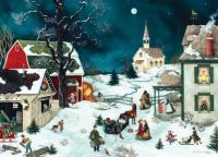 """Moonlit Winter""-Linda Nelson Stocks"