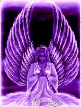 Pleasing Peace Prayer in Purple