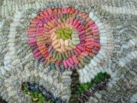 Flower Detail - Wool Rug