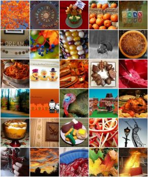 Thanksgiving Flickr Mosaic - 11-12-08 by Jen5253 on flickr