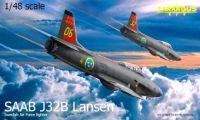 Tarangus Saab J32B Lansen Swedish Air Force 1/48
