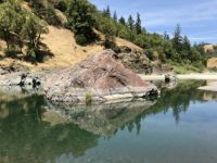 A Swimming Hole on the South Fork of the Eel River, near the Hooker Creek Exit on Hwy 101