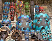 MEXICO – Modern style Aztec Masks