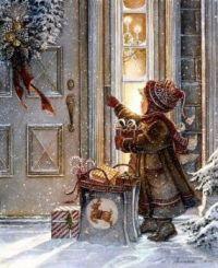 Christmas - Delivering Presents