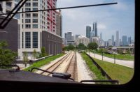 Heading into the heart of Chicago