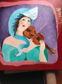 My acryl painting,