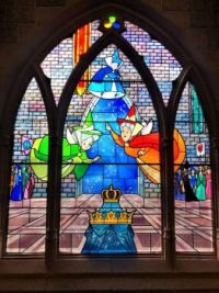 STAINED GLASS WINDOWS - 3 OF 3