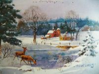 Winter beauty,63 pieces