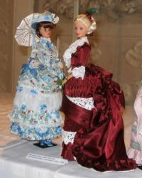 Exhibition of dolls in historical costumes