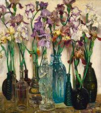 Rum Row, oil painting, 1922