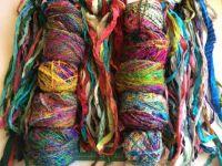 Sari Silk and Fibers