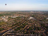 Above Norwich in a Hot Air Balloon