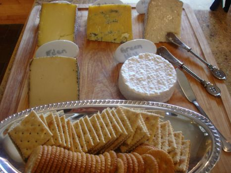Cheese and Crackers!